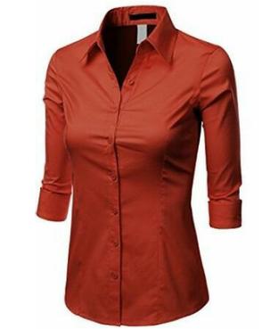 blusa social feminina
