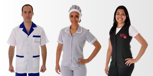 uniformes de limpeza