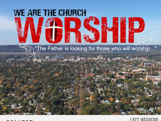 We Are The Church - Worship