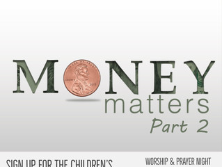Money Matters - Part 2