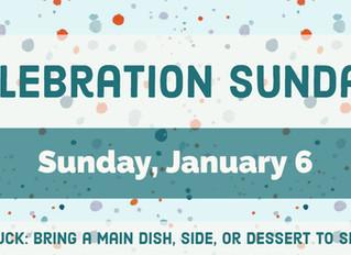Celebration Sunday!