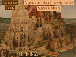 Beginnings: The Tower & Languages