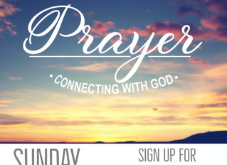 Prayer: Connecting with God