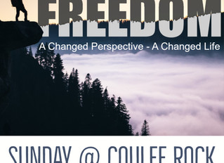 Freedom: A Changed Perspective, A Changed Life