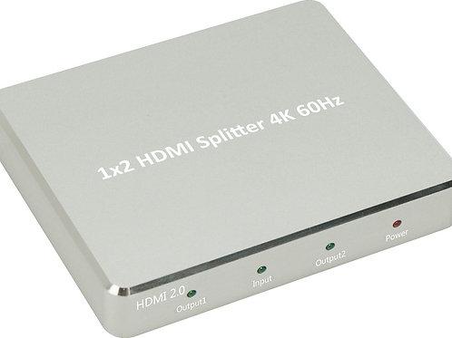 XtremPro 62102KA 1X2 HDMI ALUMINIUM 4K2K SPLITTER