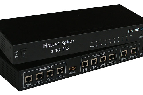 XtremPro 11015 HDbaseT Splitter 1*8 (TX ONLY)
