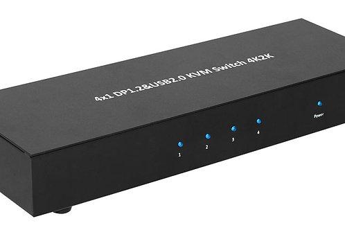 XtremPro 61020 4X1 DP1.2 & USB2.0 KVM SWITCH 4K2K(UL)