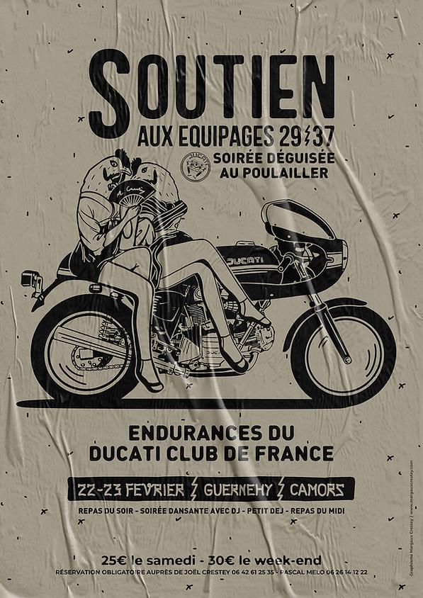 Margaux Crestey Affiche 2020 Ducati Club