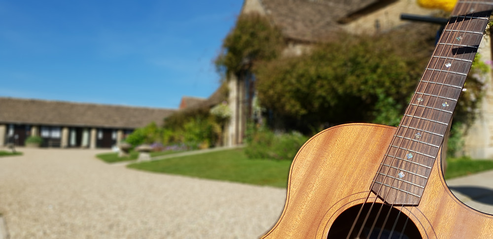 Live Acoustic Guitar at the Great Tythe Barn Tetbury