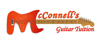 The logo For McConnell's Guitar Tuition Bristol