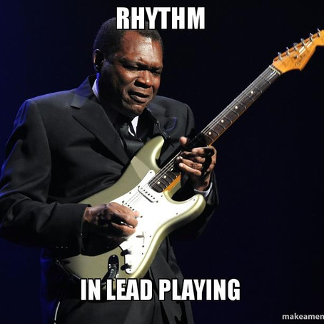 Improving Your Lead Playing Pt.2 Rhythm