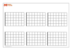six blank fretboards