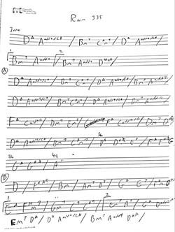 room 335 chords Larry Carlton