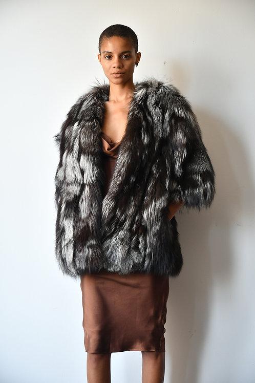 The Silver Fox Coat