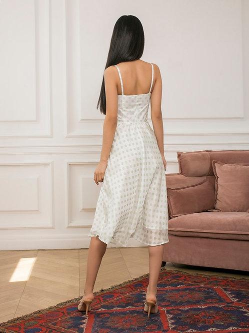 Платье с акцентным
