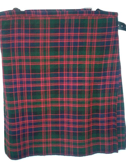 American Highlander Men's Premium MacDonald Tartan Kilt