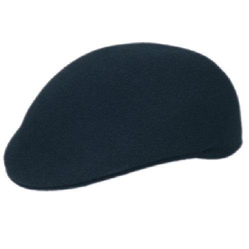 Solid Navy Flat Cap