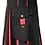 Thumbnail: American Highlander Black and Red Utility Kilt