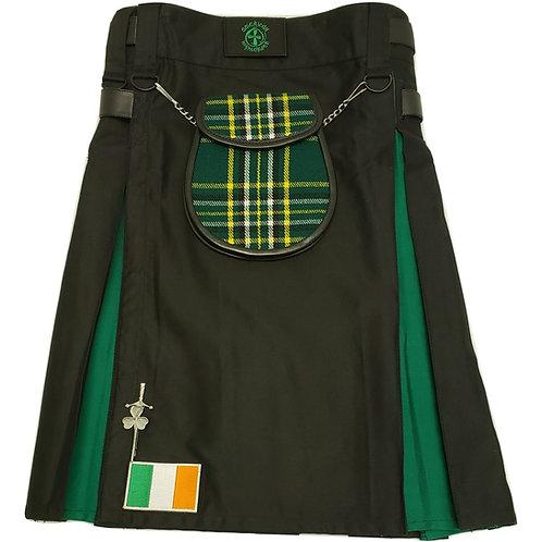 Black Irish Utility Kilt Package
