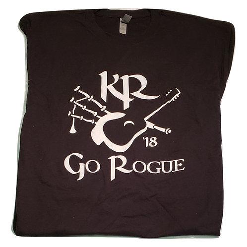 Kilted Rogues Black Go Rogue TShirt