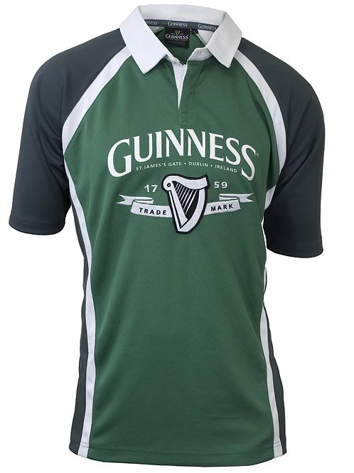 Guinness Green Rugby Jersey