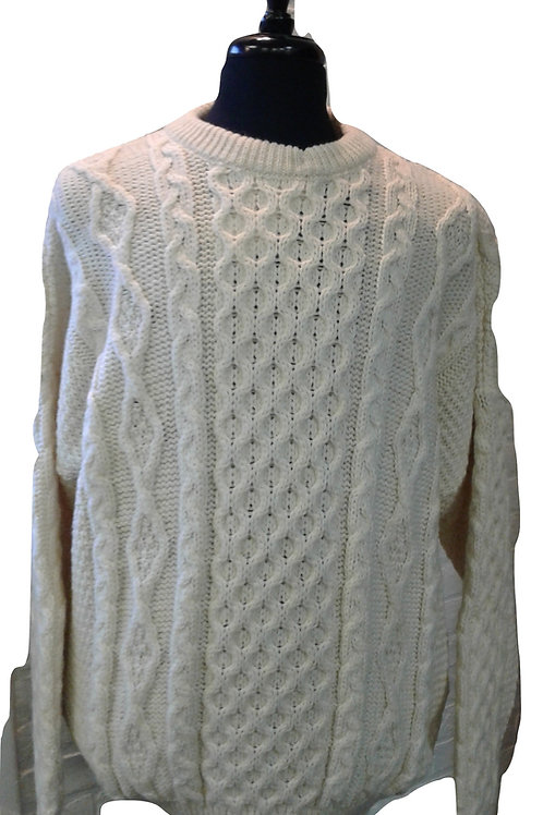 Irish Wool Knit Sweater