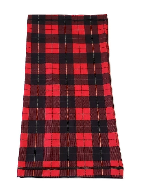 Wallace Red Neck Gaiter - Breathable Tartan Neck and Face Mask