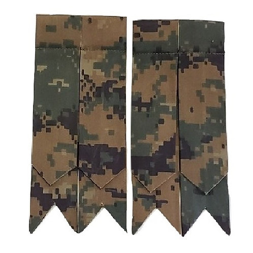 Woodland Digital Camo Marpat US Marine Corp Flashes
