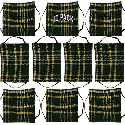10-Pack of Face Kilts