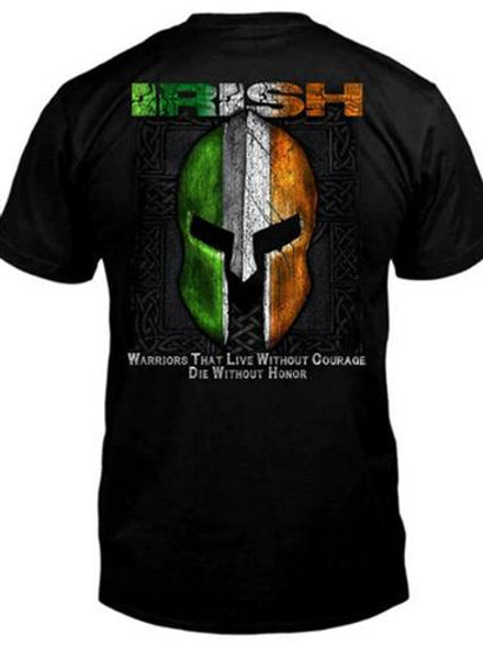 Irish Warrior Helmet T-Shirt