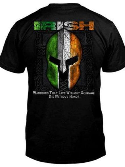 Irish Warrior Helmet T-Shirt
