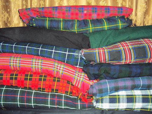 Pure Wool Machine-Sewn Lightweight Casual Kilt