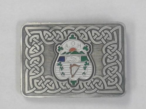 American Highlander AOH Shield Kilt Belt Buckle