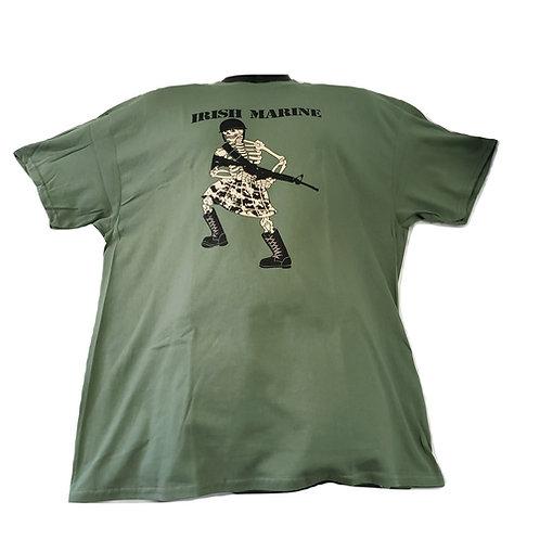 Irish Marine Skeleton TShirt