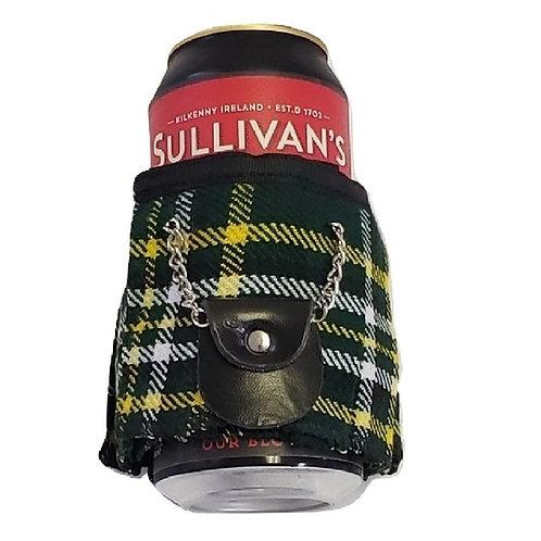 Irish Tartan Beer Kilt Kooler