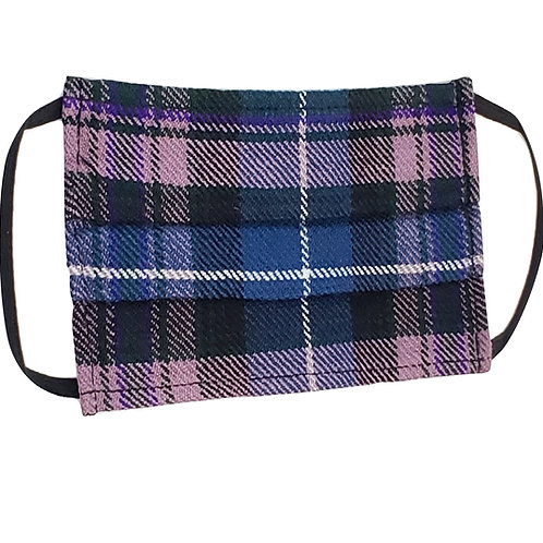 Pride of Scotland Face Kilt. Double Layered.