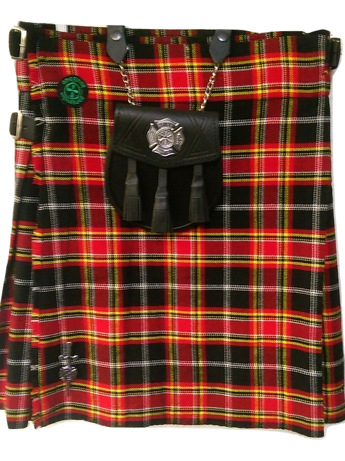 Firefighter Memorial Tartan Kilt Package