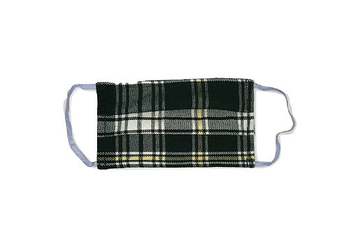 St. Patrick Tartan Face Kilt - Double Layered and Washable