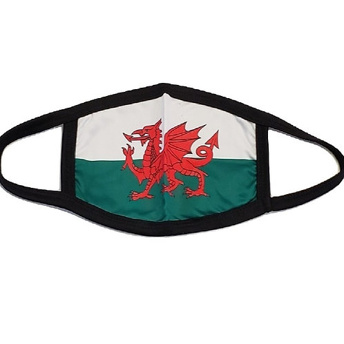 Welsh Dragon Face Mask