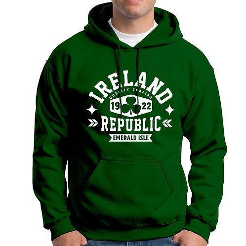 Ireland Republic 1922 Green Hoodie