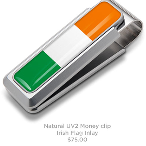 Irish Tricolor Flag Money Clip