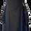 Thumbnail: American Highlander Black and Blue Utility Kilt
