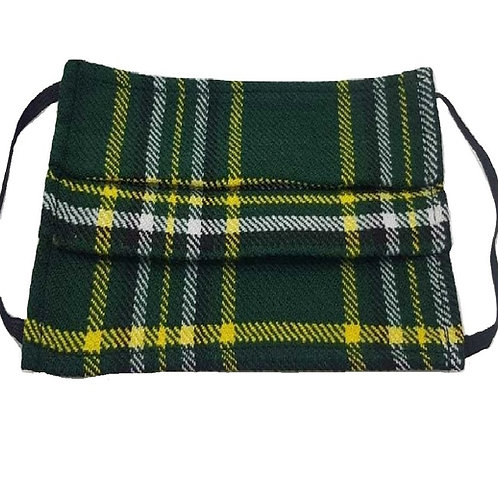 Irish National Face Kilt - Double Layered and Washable