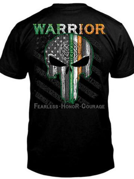 Celtic Warrior Skull Honor T-Shirt