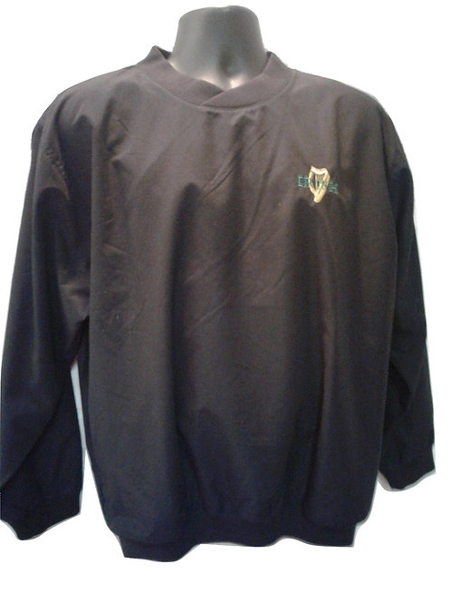 Black Irish Harp Golf Jacket