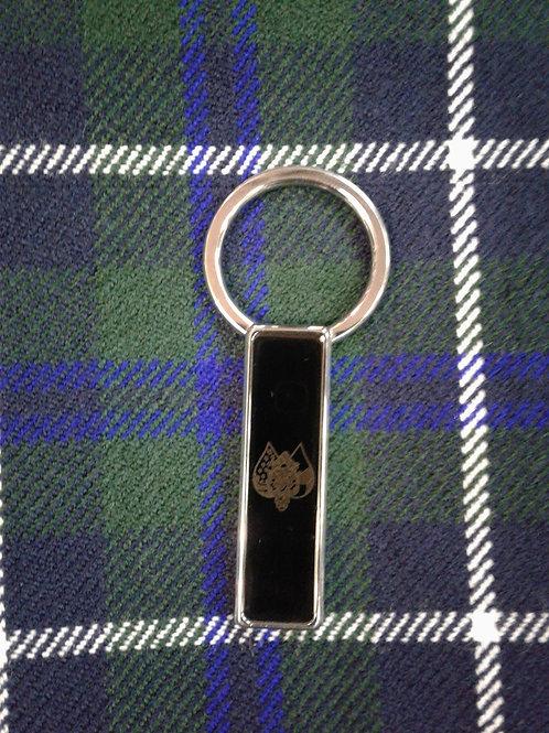 Silver or Black Ancient Order Of Hibernians Key Ring