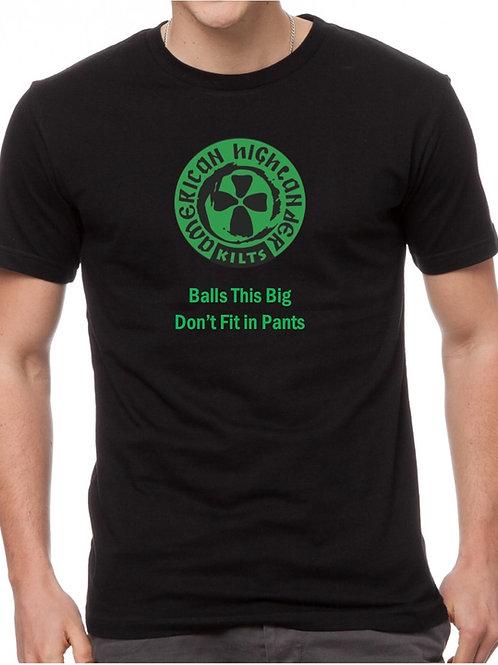 American Highlander Black T-Shirt