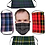 Thumbnail: 5-Pack of Face Kilts - One of Each Tartan Face Mask