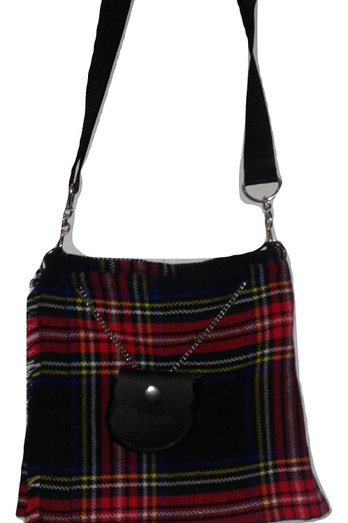 Black Stewart Kilt Purse