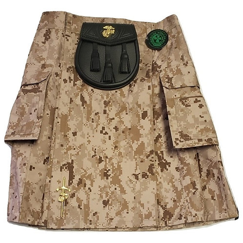 US Marine Desert Marpat Digital Kilt Package
